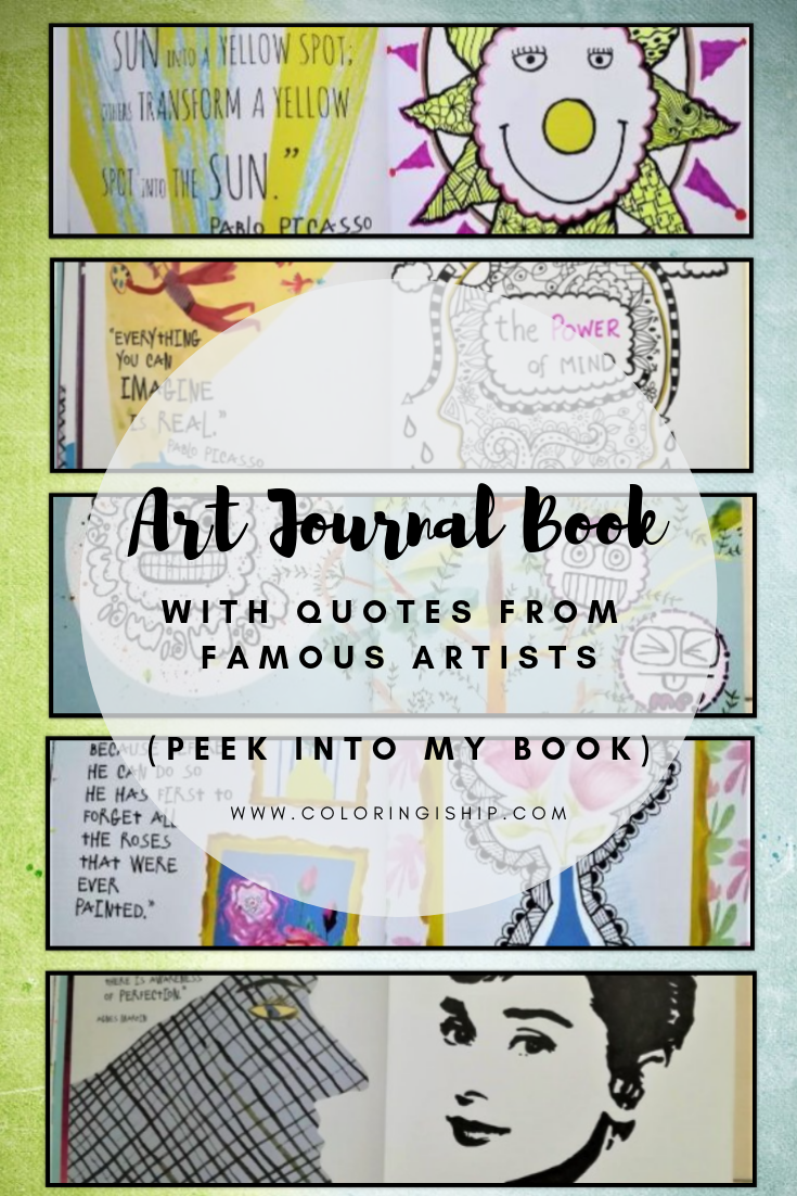 art journal book