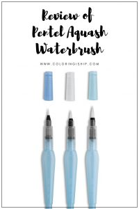 review of pentel aquash waterbrush