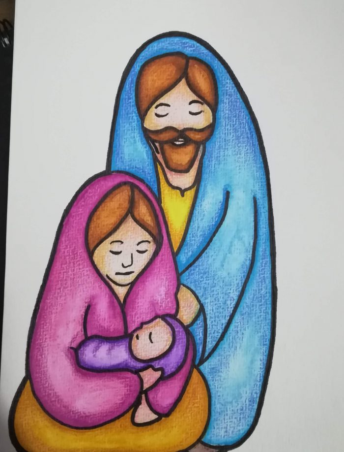 nativity decor art