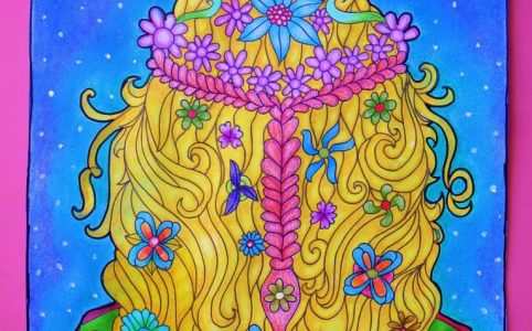 bohemian coloring pages