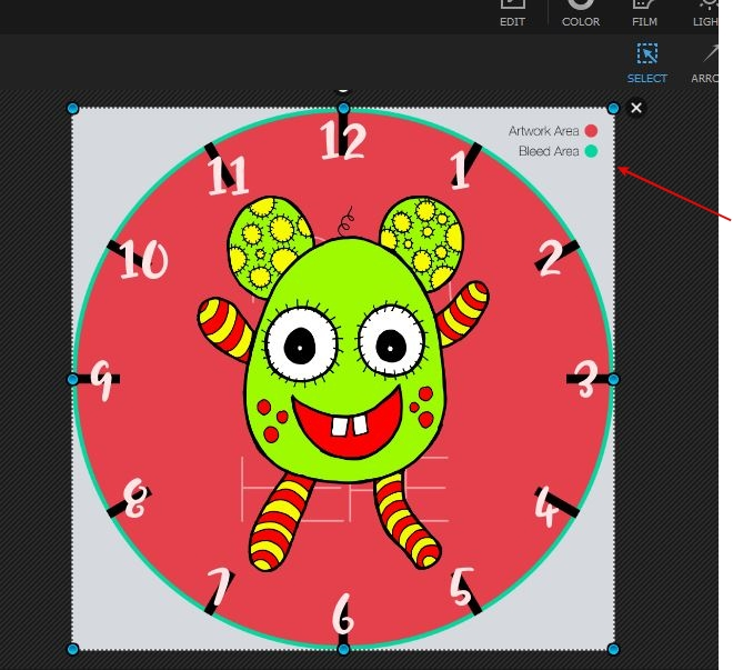 How To Create Clock Face Numbers For Redbubble