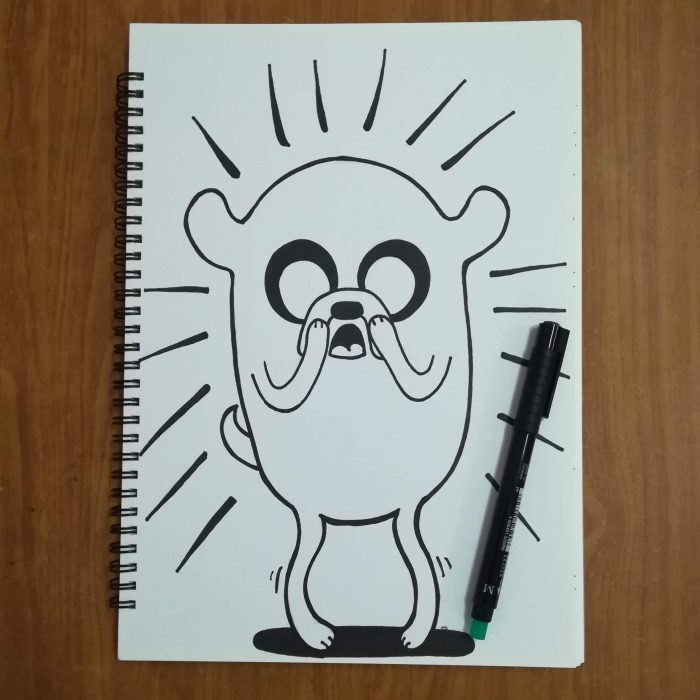 jake the dog fan art